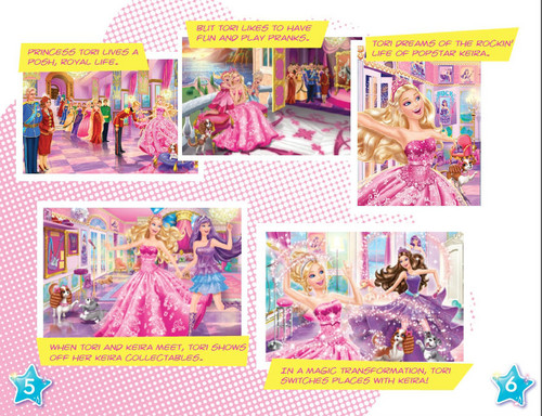 B.com's Princess booklet