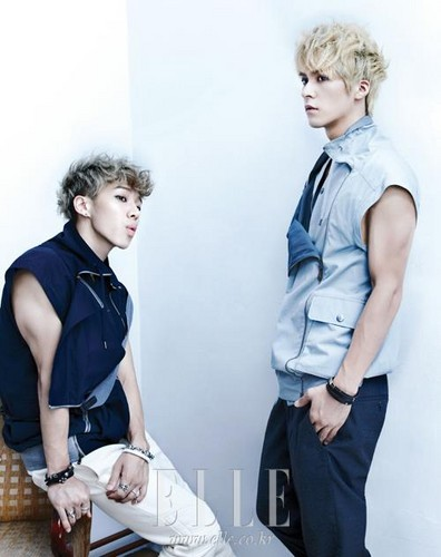 B2ST for Elle Pictorial