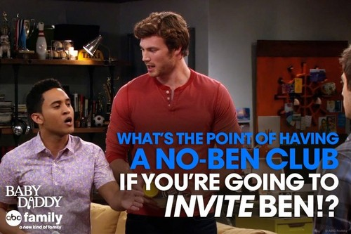 Baby Daddy Quote - Tucker