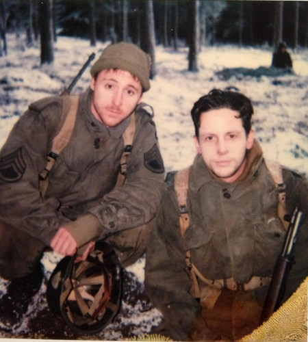 Band of Brothers Set Pictures