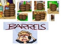 Barrels Everywhere on Fantage! D: - pewdiepie photo