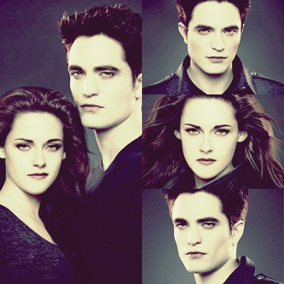 Twilighters wallpaper possibly with a portrait titled Bella & Edward BD Part 2