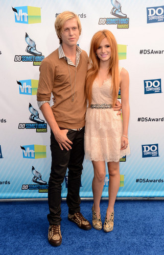 Bella Thorne wallpaper probably with bare legs, a well dressed person, and a hip boot entitled Bella Thorne- Do Something Awards- 19 August 2012, Santa Monica, California