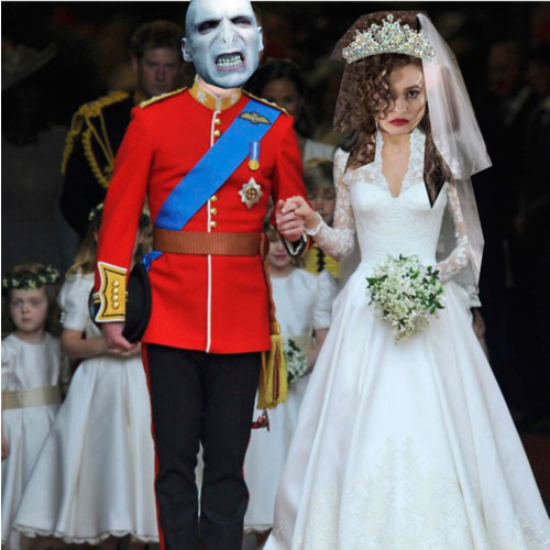 Bella and Voldy get married!