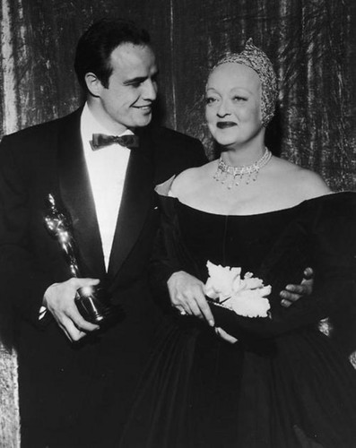 Bette Davis & Marlon Brando