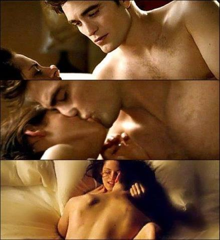 Breaking Dawn Sex Scene