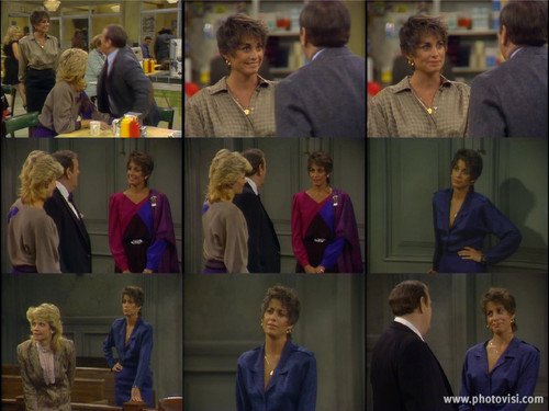 Brianne Leary as Marjorie on Night Court