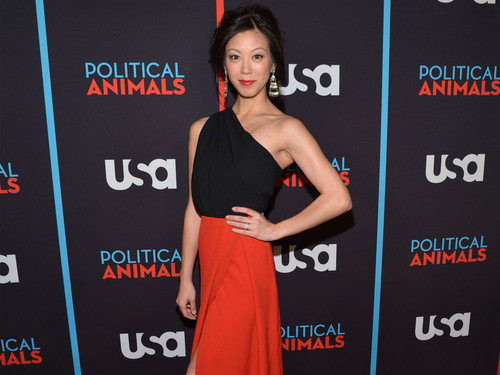 Brittany Ishibashi @ the Political 동물 Red Carpet Premiere