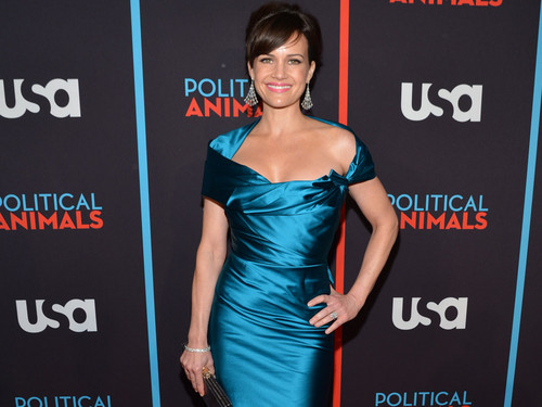 Carla Gugino @ the Political Animals Red Carpet Premiere