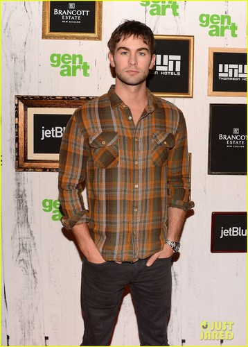 Chace at the 17th Annual GenArt Film Festival premiere in NY