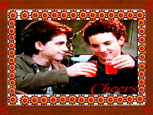 Boy Meets World wallpaper probably with a sign called Cheers