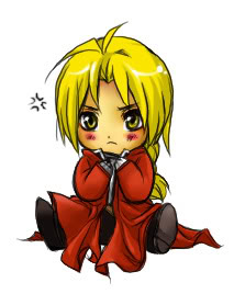 Chibi Edward Elric - full-metal-alchemist Fan Art