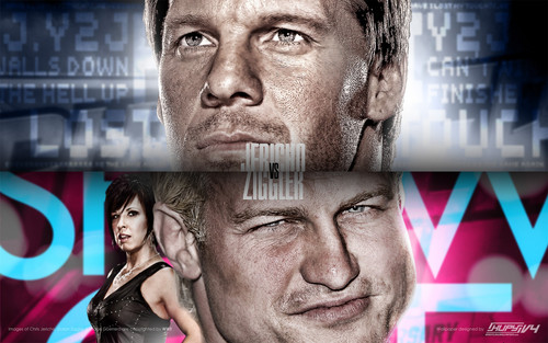 WWE wallpaper called Chris Jericho vs Dolph Ziggler