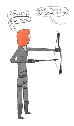 Hawkeye & Black Widow wallpaper called Clint & Natasha