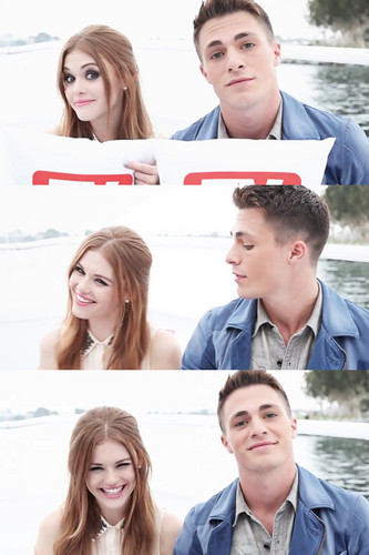 Colton Haynes + Holland Roden