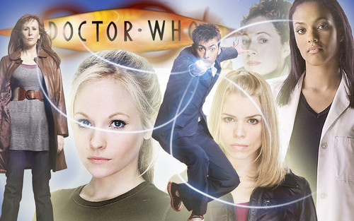 Cool 'Doctor Who' wallpaper. :)