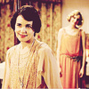 Downton Abbey bức ảnh probably containing a kirtle and a nightgown entitled Cora and Edith