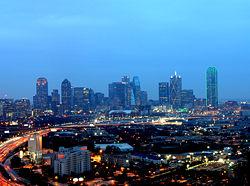 Dallas @ night