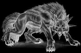 Dark भेड़िया