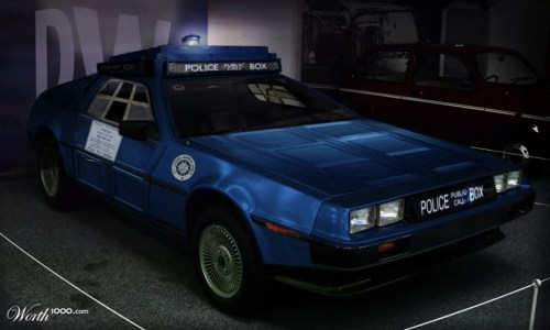 De Lorean & Tardis Car