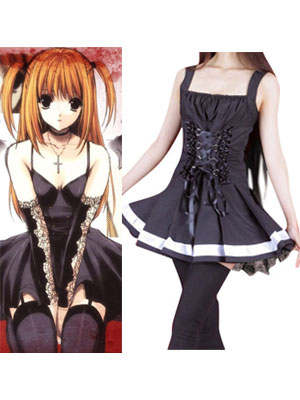 Death Note achtergrond possibly containing a cocktail dress titled Death Note Amane Misa Cosplay Costume