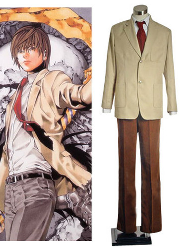 Death Note Light Yagami Cosplay Costume - death-note Photo