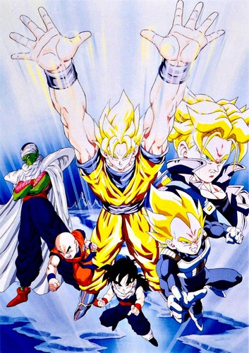 Dragon Ball Z wallpaper with anime entitled Dragon Ball Z