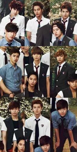 EXO Members in To The Beautiful u Drama!