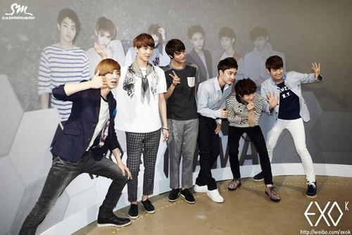 exo at SM.Art Exhibition