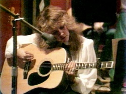 stevie nicks wallpaper probably containing an acoustic violão, guitarra and a guitarist called Early Pics of our Lady