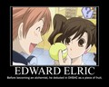 Edward Elric in OHSHC!