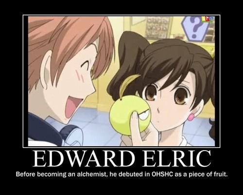 Edward Elric in OHSHC!
