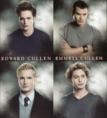 Emmett cullen and edward cullen