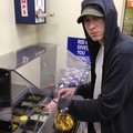 Eminem at 7eleven gas station! - eminem photo