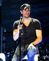 Enrique Iglesias Perform At The Staples Center
