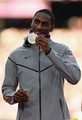 Erik Kynard - Silver medal in men's High jump. - the-olympics photo