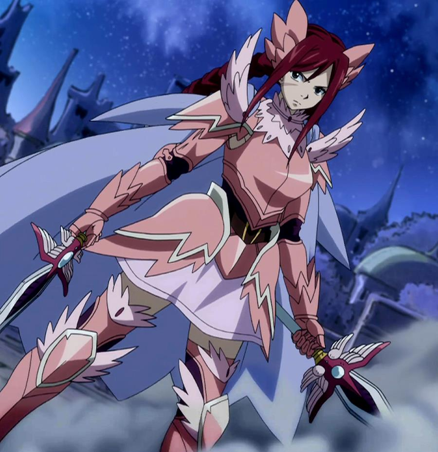 Erza in fairy armour fairy tail photo 31889733 fanpop - Image fairy tail erza ...