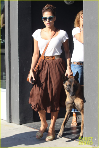 Eva - Out and about in West Hollywood - August 20, 2012