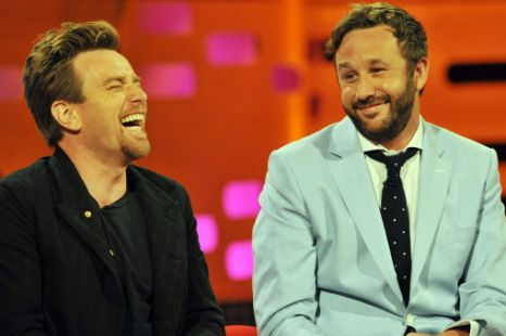 Ewan McGregor & Chris O´Dowd at The Graham Norton Show