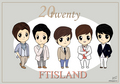 FTIsland 20twenty fanart - ft-island fan art