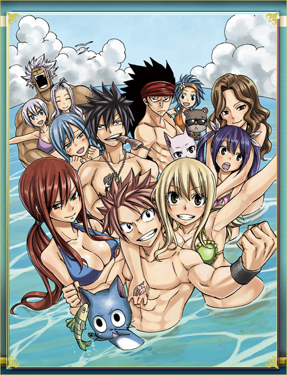 Fairy tail images fairy tail hd wallpaper and background for Amour dans piscine