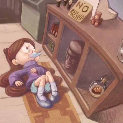Gravity Falls پیپر وال titled آرٹ پرستار