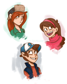 Fanart - gravity-falls fan art