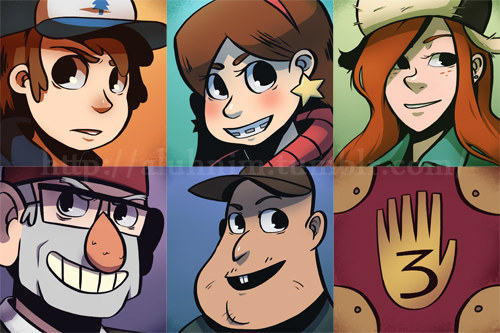 Gravity Falls Images Fanart Wallpaper And Background Photos