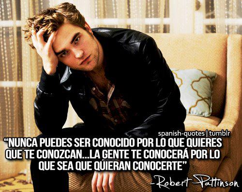 Fco Twilight Frases Crepusculo: Frases De Robert Pattinson