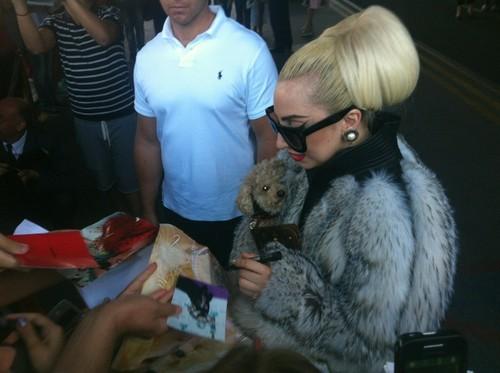 Gaga in Sofia, Bulgaria (Aug. 13)