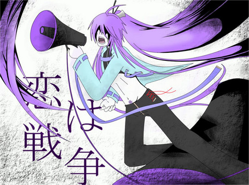 Vocaloids wallpaper containing anime titled Gakupo Kamui