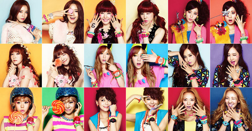 """Girls' Generation for Casio's Baby G """"Wink Campaign"""""""