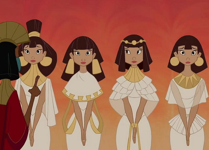 Girls in the Emperor's New Groove