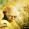 Lord of the Rings photo containing a grainfield, cultivated rice, and a portrait called Gollum